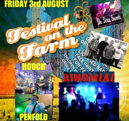 Change to Fridays line up . We now have Hooch and Penfold on Friday night . Do n...