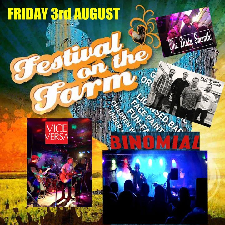 Today we can announce the Fridays line up for Festival on the Farm. A real stron...