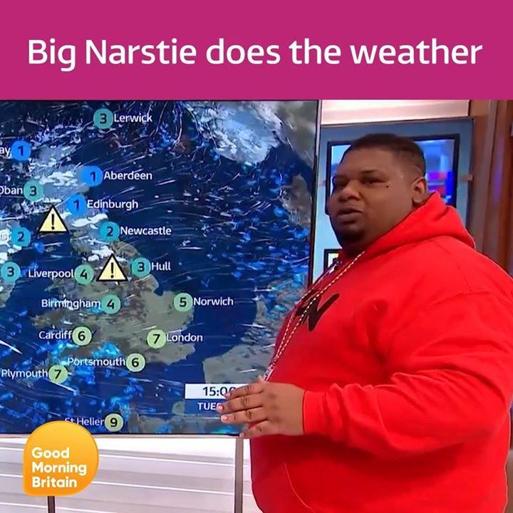 Spotlight on our headliner... Big Narstie!...