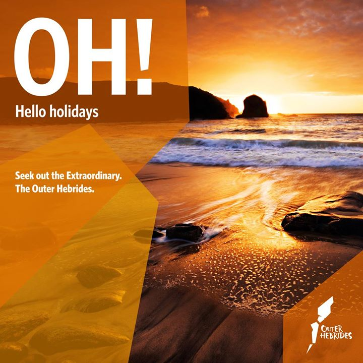 Oh! Hello holidays. Hello Outer Hebrides. Experience a holiday that combines act...