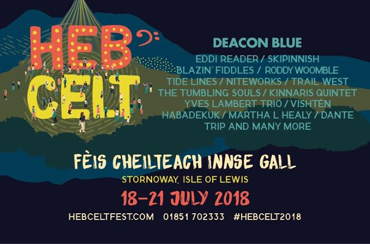 Recently announced artists joining us at  #hebcelt2018 are Eddi Reader, Roddy Wo...