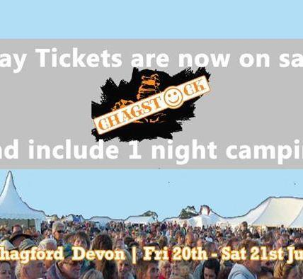 Day Tickets now on sale