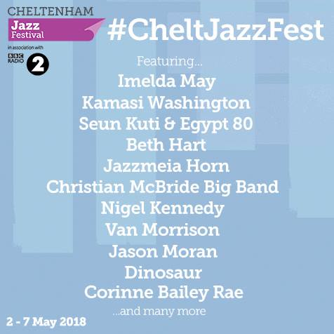 Cheltenham Jazz Festival 2018 Announcement