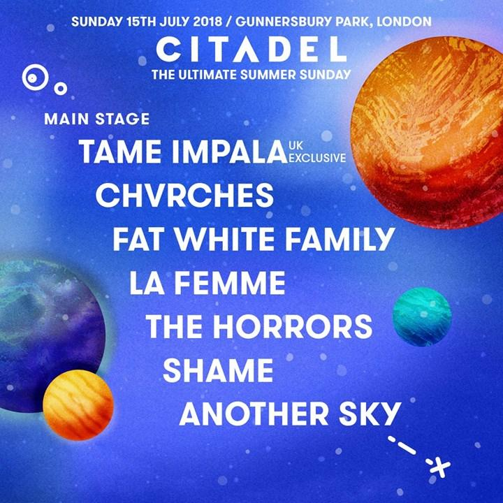 The ultimate summer Sunday. Stage by stage. ...