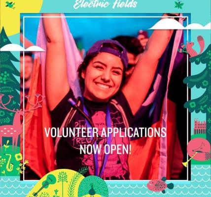 Volunteer Applications are go!...