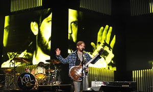 Kings Of Leon at Reading Festival, 2009.