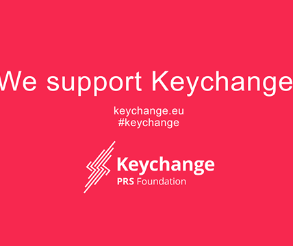 We support PRS Foundation Keychange pledge towards achieving or maintaining a 50...