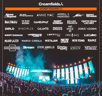 #Creamfields2018  #Creamfields21 – Which days are you joining us?...