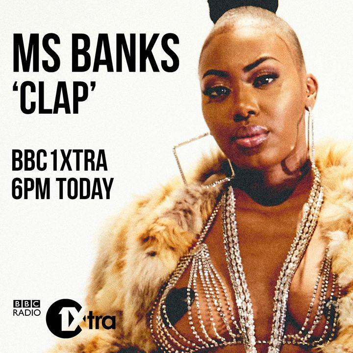 Excited to hear Ms Banks new ...