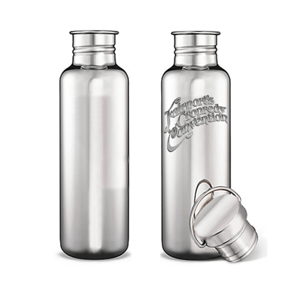 Our 500ml stainless steel water bottles are available to pre-order in our online...