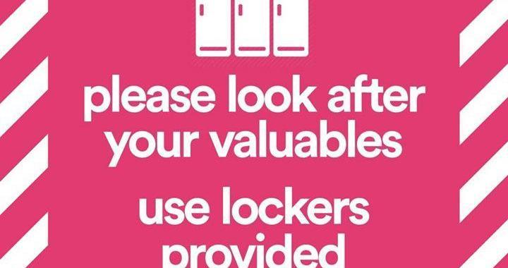 We are FSTVL news: Lockers
