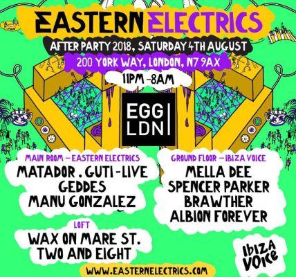 After-party line-up announced! Matador • Guti • Mella Dee • Spencer Parker • Bra...