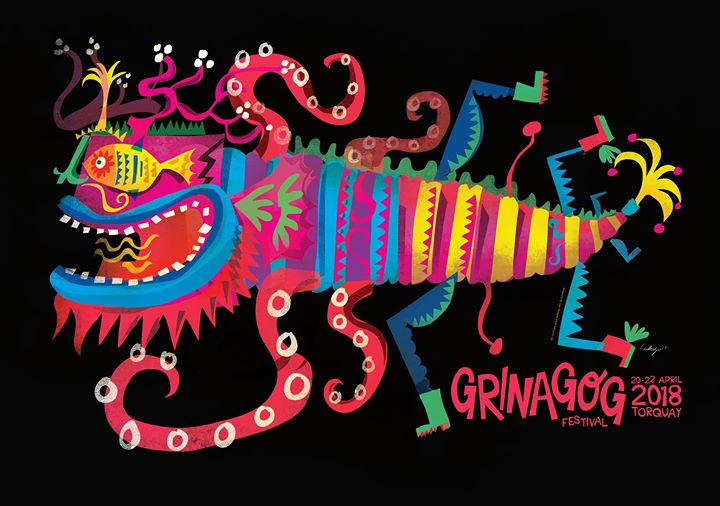 IT CAME FROM THE SEA.... The Grinagog monster is back and look at this amazing c...