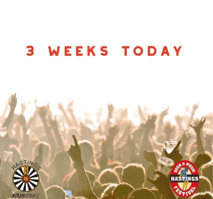 3 weeks today, the gates open! ...