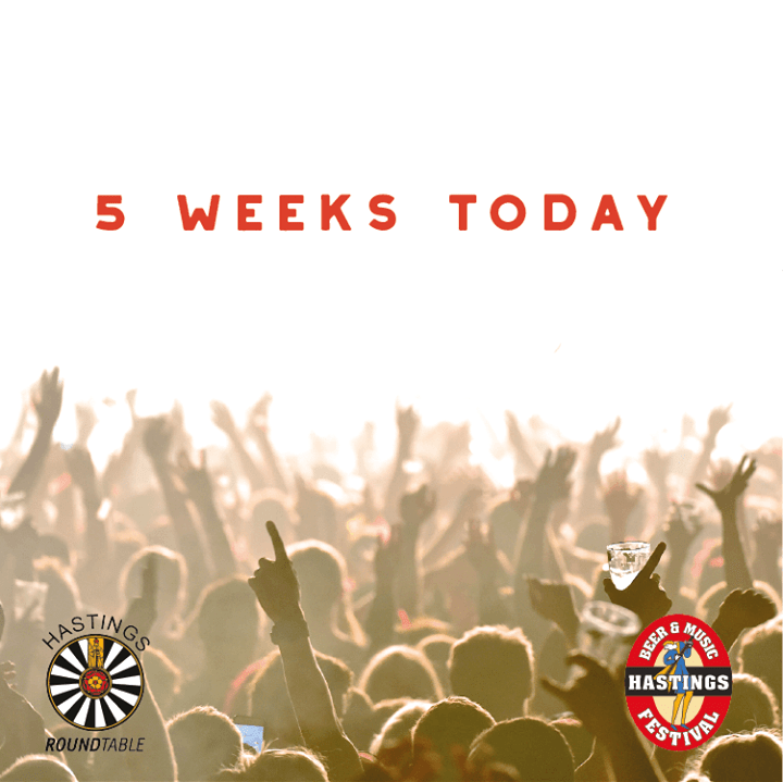 5 weeks today, the gates open! ...