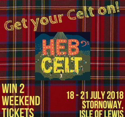 """As proud sponsors of """"The Acoustic Tent"""" at this years Hebridean Celtic Festival..."""