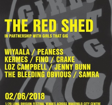 It's great to have The Red Shed join us as a Saturday venue and we're extra plea...