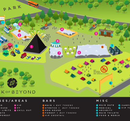 Getting excited now...Official Festival Map   ...