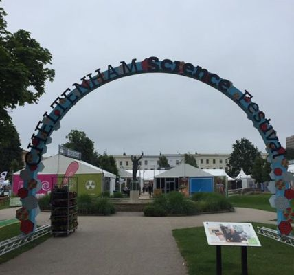 #CheltSciFest is HERE!...