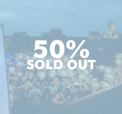 Tickets are now Officially 50% Sold out for Canterbury rooftop party - Old Skool...