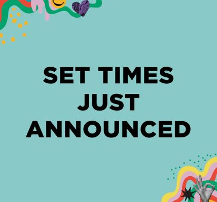 In case you missed it, yesterday we announced our official set times for Dot To ...