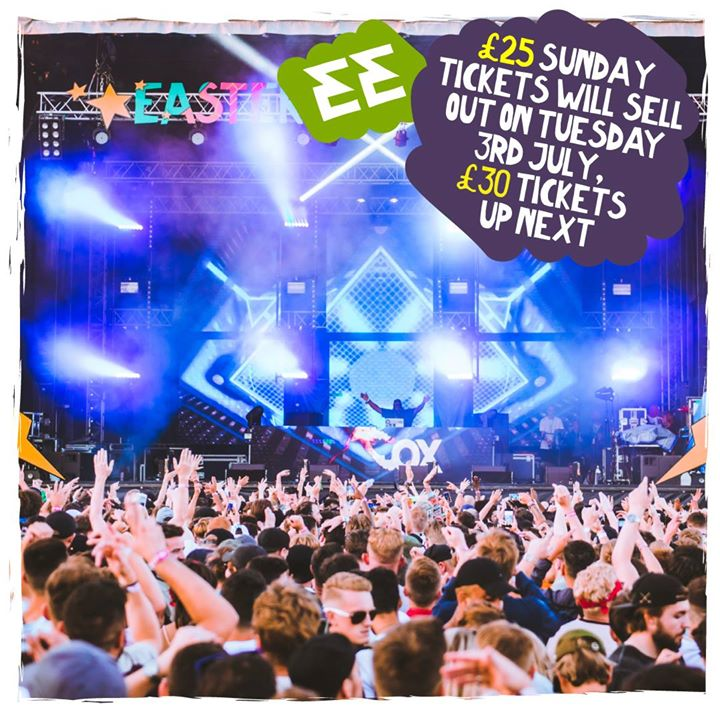 Sunday EE tickets will be moving into the final tier on Tuesday! ...