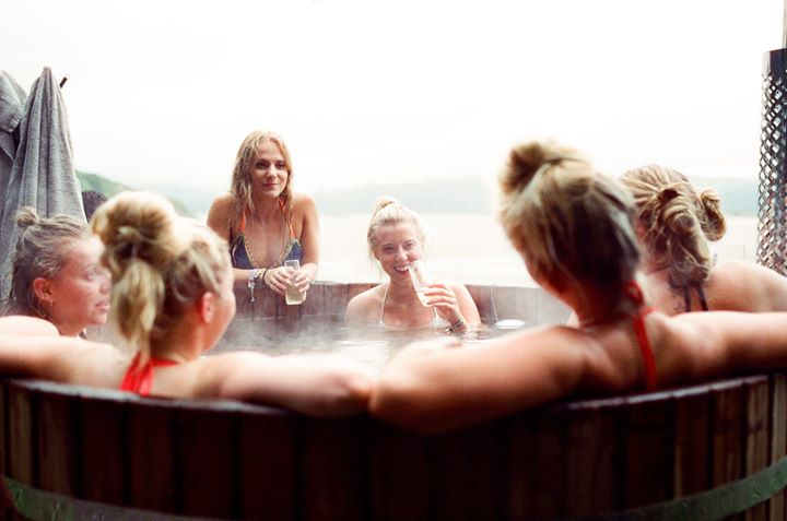 Our Wood-fired Hot Tub sessions are selling fast. Check-in to the Estuary spa, s...