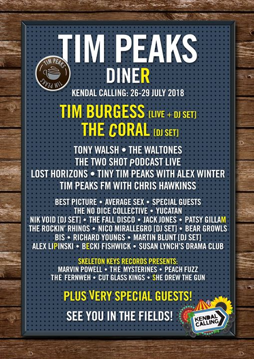 The brainchild of The Charlatans frontman Tim Burgess returns! One of our fave c...