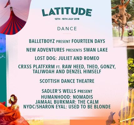 We are thrilled to add more dance, theatre and spoken word names to your Latitud...