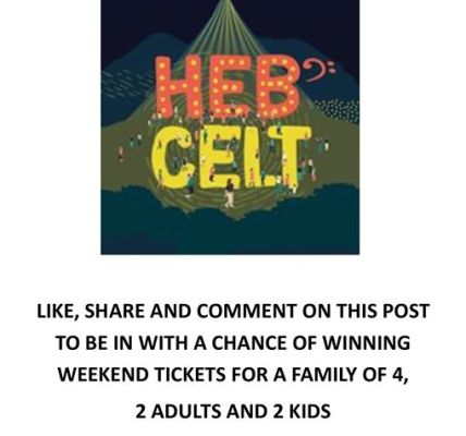 Another fab competition from festival supporters Tech Mobile - go to original po...