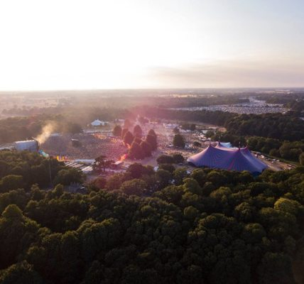 Latitude Festival looking stunning from above last Saturday!