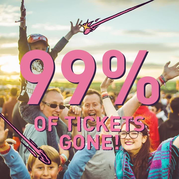 99% Of Tickets Sold