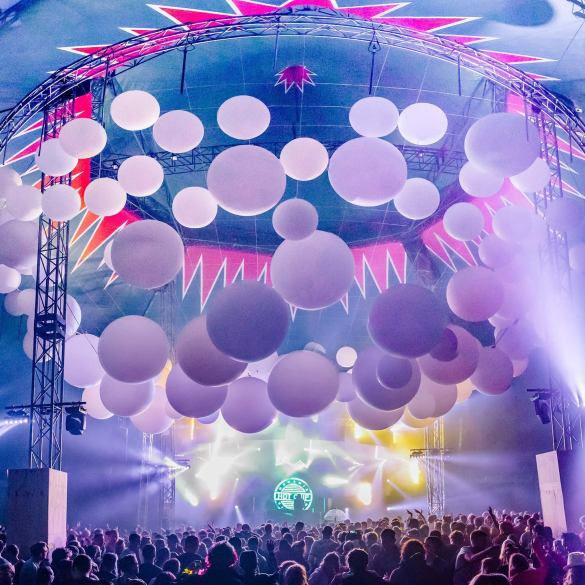 Our after-hours go-to, the Late Night Pavilion with Hot Chip Mega Mix.