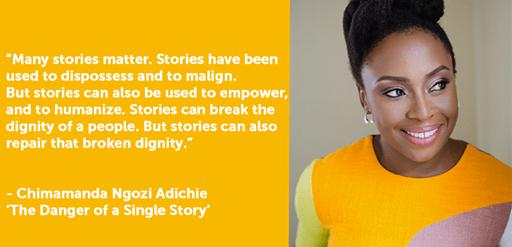 Chimamanda Ngozi Adichie on The Danger of a Single Story...