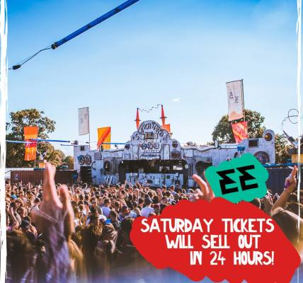 Saturday tickets will be sold out in the next 24 hours....
