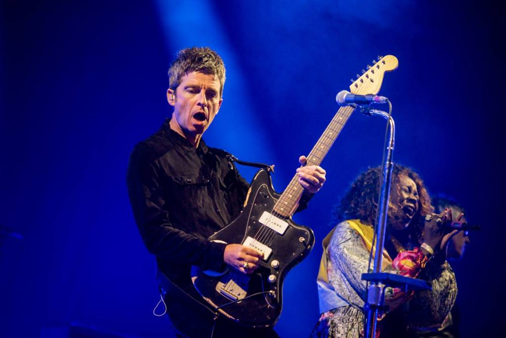 Noel Gallagher taking on our Main Stage right now!...