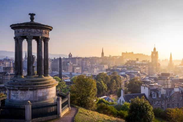 Edinburgh's warm weather to last 'well into September'