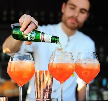 The House of Peroni presents Discover Aperitivo; Create your own Peroni Ambra co...