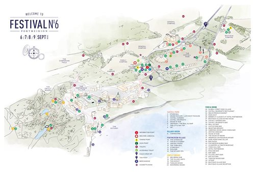 The official Festival No.6 2018 map is available to explore, discover and downlo...