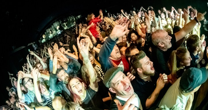 Skinny Lister and Buster Shuffle, Live: photos