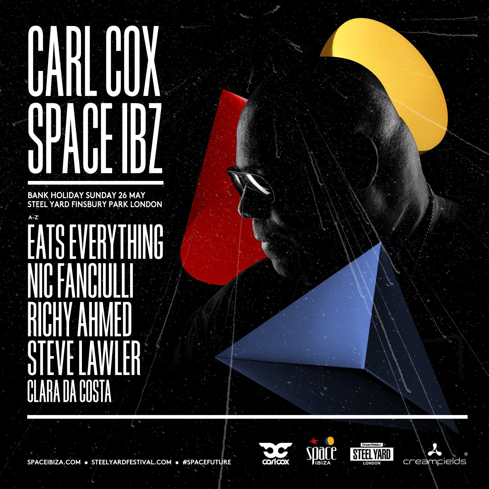 We're pleased to announce the full line up for Carl Cox presents Space Ibiza @ S...