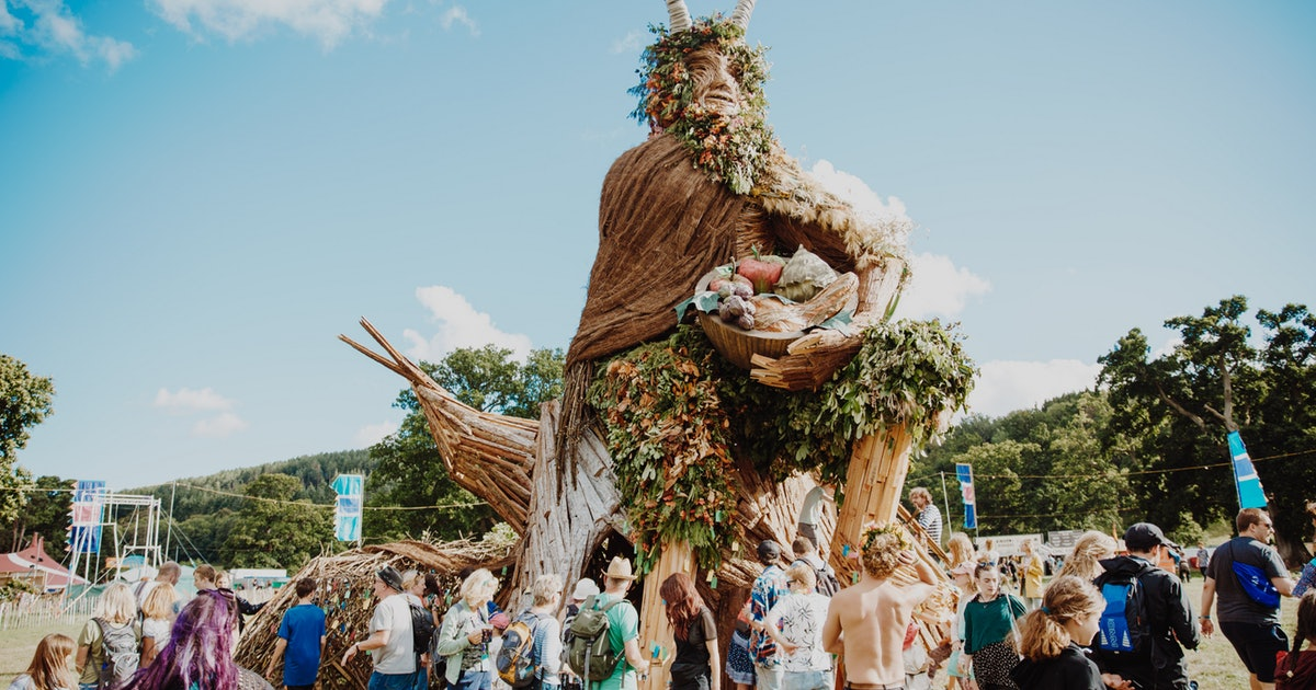 These Deliciously Quirky UK Festivals Will Change How You Feel About Camping