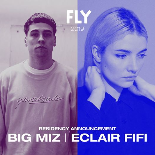 Big Miz & Eclair Fifi are now announced as 2019 FLY CLUB residents - joining Den...