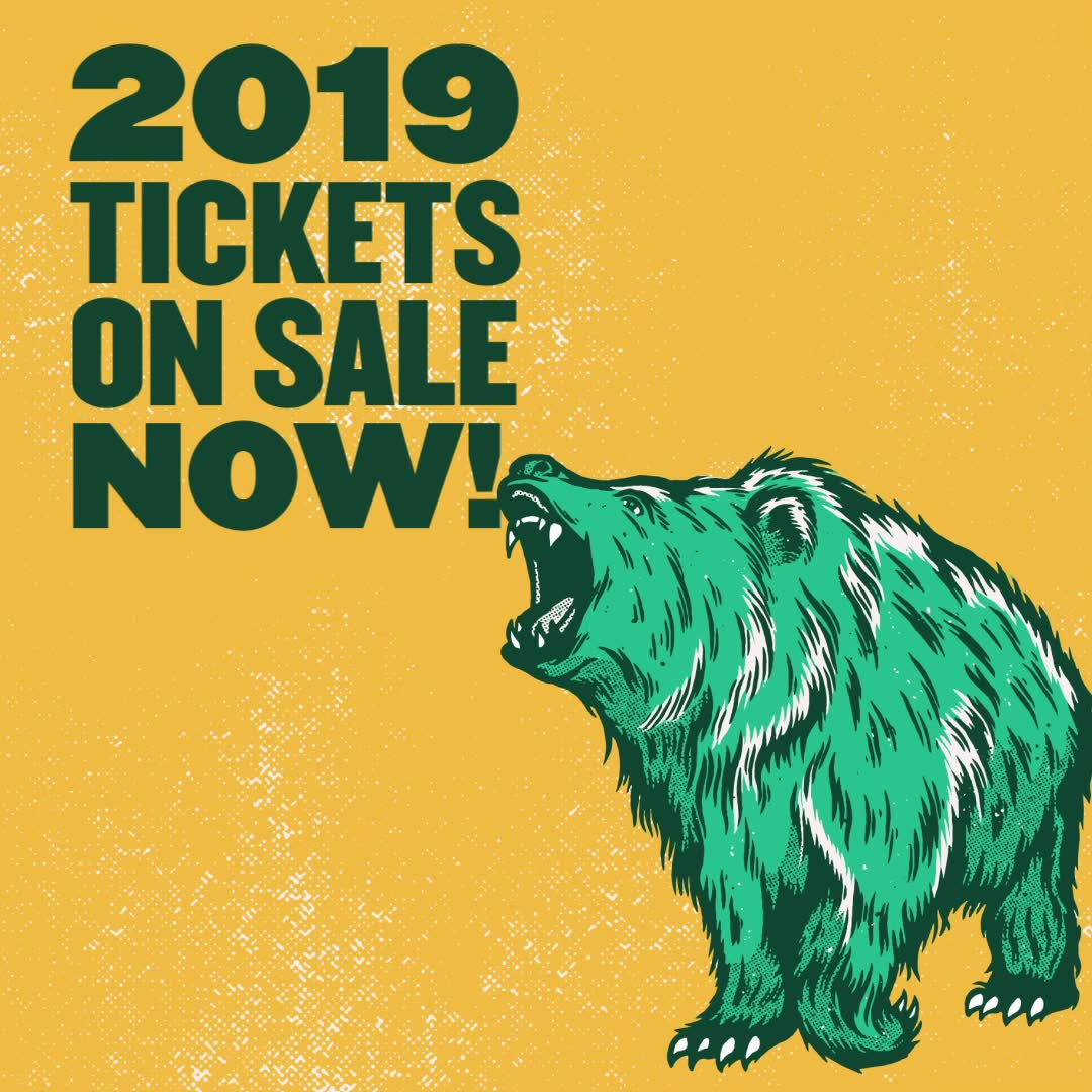 TIER 2 TICKETS ON SALE NOW