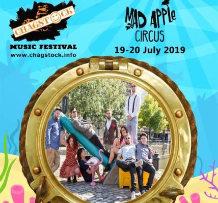 Mad Apple Circus join the Chagstock line up!...