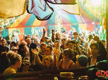Party in the Ghilli Dhu Tent - Eden Festival 2017