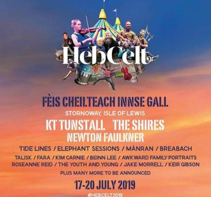 Who's coming? Tickets exclusively from www.hebceltfest.com and no booking fees!