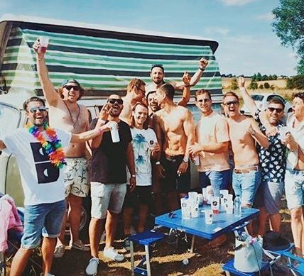 Camping friendship goals  ⠀⠀⠀⠀⠀⠀⠀ This year is all about the camping tickets ~ w...