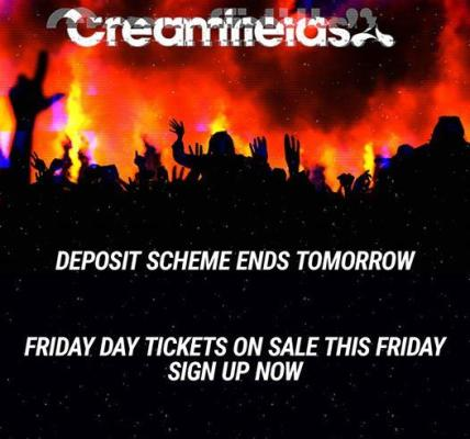 Our 5 part deposit scheme ends tomorrow at 11pm GMT....