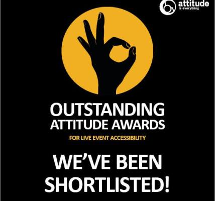 We're off to the Attitude is Everything #OutstandingAttitudeAwards ceremony this...